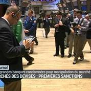 Manipulation des changes: 5 banques sanctionnées