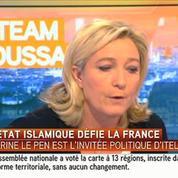 Le Pen souhaite que les prêches dans les mosquées soient en français