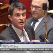 Affaire Jouyet : «Il n'y a eu aucune intervention de l'exécutif» affirme Valls