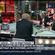 35heures, salaires ... : vers un dégel français ?: Jean-Claude Mailly, Jean-Hervé Lorenzi, Christian de Boissieu et Emmanuel Lechypre (3/4) –