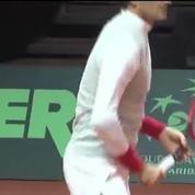 Tennis / Federer s'entraîne !