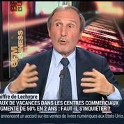 Emmanuel Lechypre: Le taux de vacances dans les centres commerciaux a augmenté de 50% en 2 ans