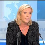 Le Pen sur Hollande : «Je ne pense pas qu'il puisse aller au bout de son mandat»