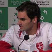 Tennis / Coupe Davis Federer : Demain sera un grand jour pour tous