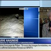 Atterrissage de Philae sur la comète Tchouri: Les commentaires de Claudie Haigneré (3/4)