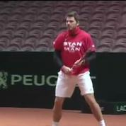 Tennis / Toujours pas de Federer à l'entrainement