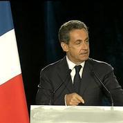 Sarkozy : «Nous n'avons pas le droit de rester les bras croisés»