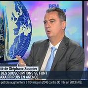 L'assurance Axa s'engage dans le digital: Nicolas Moreau