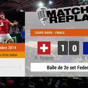 Tennis / Coupe Davis : le MatchReplay de Federer-Gasquet