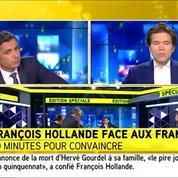 Intervention de Hollande : une «confrontation» avec les Français pour G. Didier