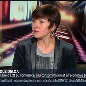 Carole Delga, secrétaire d'État chargée du Commerce, de l'Artisanat, de la Consommation et de l'Économie Sociale et Solidaire (1/4) –