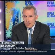 Zodiac Aerospace a le siège le plus léger du monde dans tous les segments du marché : Olivier Zarrouati