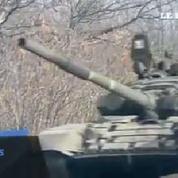 Ukraine : des chars pro-russes en route vers Donetsk