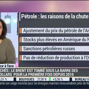 Françoise Rochette VS Philippe de Cholet (2/2): Baisse du prix du pétrole: bon ou mauvais pour les marchés? –