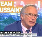 Rebsamen juge le bilan de Hollande