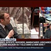 Daniel-Julien Noel, président de la Chambre nationale des professions libérales (3/3)