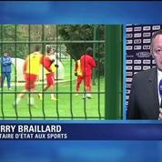 Football / Braillard : C'est une affaire délicate, il ne faut pas s'enflammer