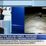 Atterrissage de Philae sur la comète Tchouri: Les commentaires de Philippe Henarejos (4/4)