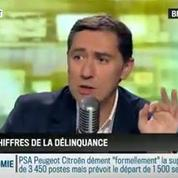Brunet & Neumann: Manuel Valls a annoncé une baisse des chiffres de la délinquance