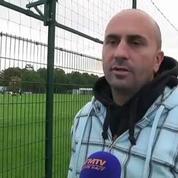 Football / Les supporters Bordelais défendent Sagnol