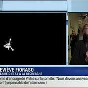 Atterrissage de Philae sur la comète Tchouri: Les commentaires de Geneviève Fioraso (1/4)