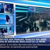 Politique Première: A mi-mandat, François Hollande va s'expliquer face aux Français