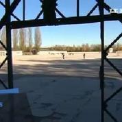 La porte du camp de concentration de Dachau a été volée