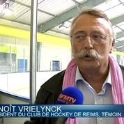 Emotion à Dunkerque après la mort d'un garçon heurté par un palet de hockey
