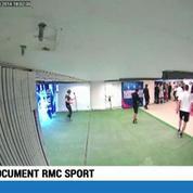 Document RMC Sport / Brandao donne un coup de tête à Thiago Motta : Un mois de prison ferme pour Brandao