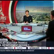 La tendance du moment: La tour Triangle, le premier gratte-ciel de la capitale