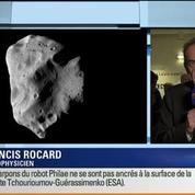 Atterrissage de Philae sur la comète Tchouri: Les commentaires de Philippe Henarejos et Francis Rocard (2/4)