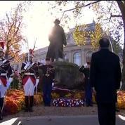 11-Novembre: François Hollande rend homage à Clémenceau