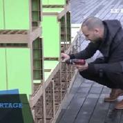 L'étagère la plus longue du monde sur le toit de la Cité de la Mode