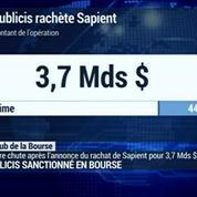 Publicis achète Sapient pour 3,7 milliards de dollars