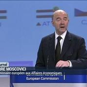 Moscovici promet que Bruxelles prendra ses responsabilités