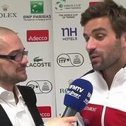 Tennis / Coupe Davis Clément : Je n'en veux pas à mes joueurs