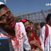 Brésil : un millier de zombies défilent dans les rues de Rio