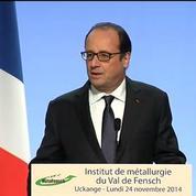 Hollande considère que ses engagements sur Florange ont été tenus