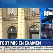 BFM Story: Soupçons de matchs truqués en Ligue 2: les mises en examen pleuvent