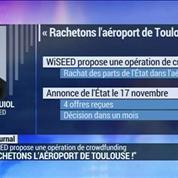 WiSEED propose aux particuliers de racheter l'aéroport de Toulouse !