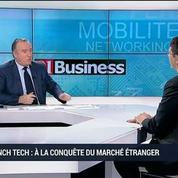La French Tech accompagne les start-up françaises à l'international: David Monteau –