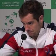 Tennis / Coupe Davis Gasquet : Je suis déçu