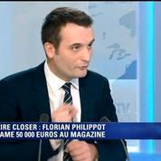 Affaire Closer: Florian Philippot dénonce une américanisation de notre vie politique française