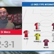 Football / International : L'équipe-type 2014 d'Éric Di Meco