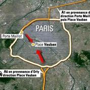 Taxis parisiens: opération escargot contre le service UberPop