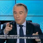 aromètre de l'innovation: que pensez-vous du développement des robot ?: Bruno Bonnell, Bruno Maisonnier et Gaël Sliman –