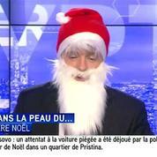 Quand le présentateur d'I-Télé se prend pour le Père Noël