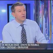 Nicolas Doze: Russie: C'est le début d'un krach monétaire
