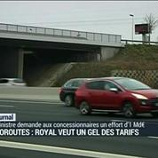 Autoroutes: Royal veut un gel des tarifs