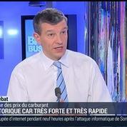Nicolas Doze: Pétrole: La baisse des cours du brut a-t-elle des impacts sur le prix à la pompe ?